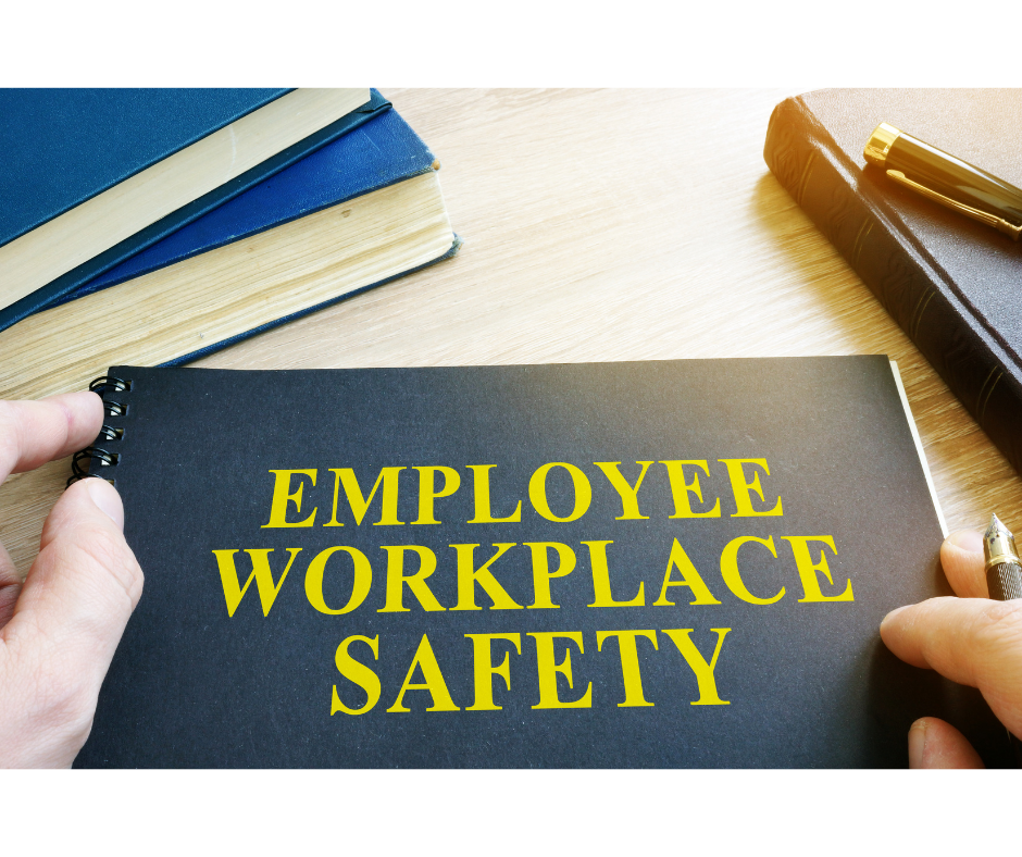 Employee Workplace Safety notebook